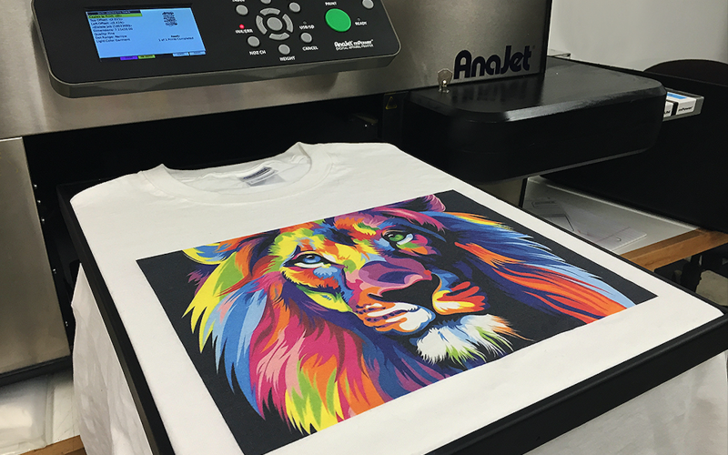 What is Direct-To-Garment (Digital) T-Shirt Printing?